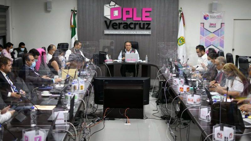 OPLE Veracruz llama a partidos y actores políticos a respetar el resultado del voto público