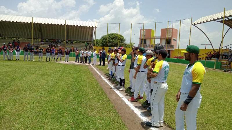 Comenzó la Liga Veracruzana de Beisbol en Cabada