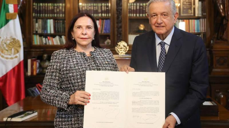 AMLO afianza relación de cooperación para el desarrollo con embajadores de 11 países