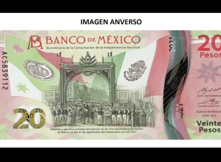 ¡Adiós don Benito! Este es el nuevo billete de 20 pesos
