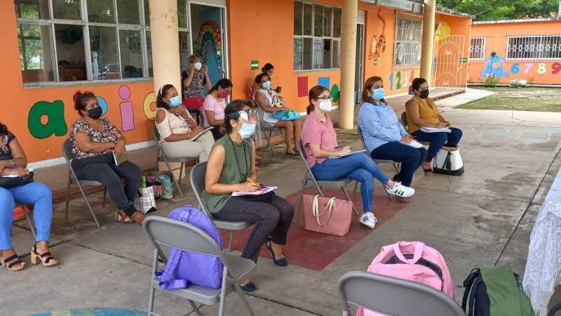 Intensa Actividad realizaron la Jurisdicción Sanitaria No. 10 y Ayuntamiento de Hueyapan
