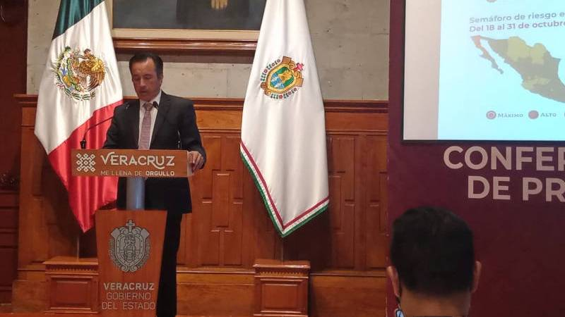 Habrá vacunas para rezagados, anuncia el gobernador Cuitláhuac