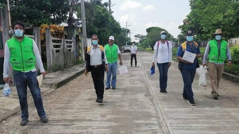 Secretaría de Salud protege a población de Los Tuxtlas ante riesgos sanitarios por lluvias
