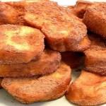Deliciosas Rabanadas de forno com leite condensado