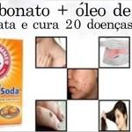 Use bicarbonato de sódio e óleo de rícino juntos para livrar seu corpo destas 20 doenças!