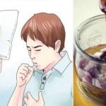 Antigo remédio caseiro para tratar asma, bronquite e outras doenças respiratórias crônicas com 1 colher de sopa (antes de cada refeição)