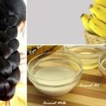 Como crescer cabelo rápido e naturalmente em apenas 5 dias com esse tratamento natural de banana