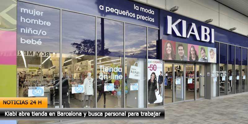 d55c7b0a315 Kiabi abre tienda en Barcelona y busca personal para trabajar.
