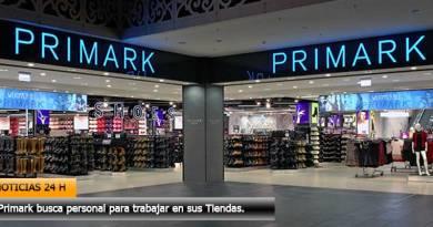 Primark busca personal para trabajar en sus Tiendas.