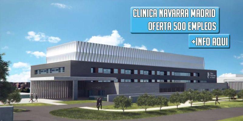 Clínica Navarra Madrid Empleo