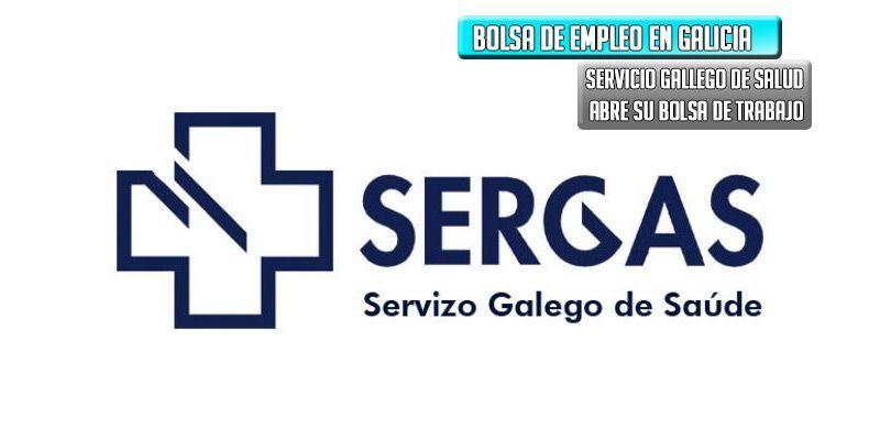 bolsa de trabajo servicio gallego salud