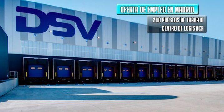 oferta empleo dsv transporte y logística