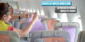 oferta de trabajo Swissport limpieza aviones