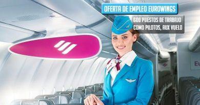 Trabaja en Eurowings, 600 puestos de trabajo