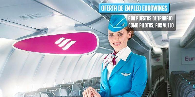 oferta de empleo eurowings