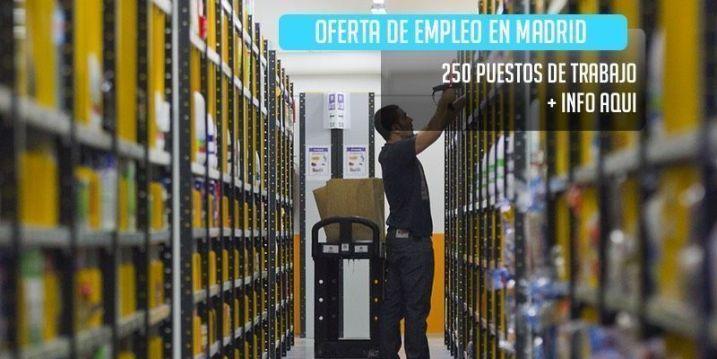 oferta de trabajo campaña de navidad en Madrid