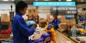 oferta de trabajo toy planet