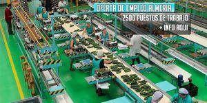oferta de trabajo almacenes almería hortofrutícola