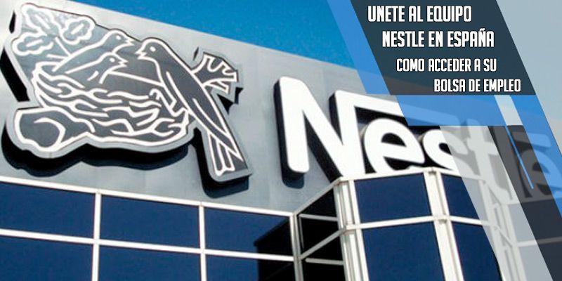 unete al equipo Nestle oferta de empleo