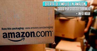 Apúntate a la bolsa de trabajo de Amazon 3000 puestos de trabajo