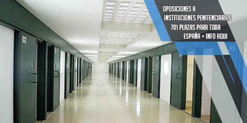 oposiciones a instituciones penitenciarias