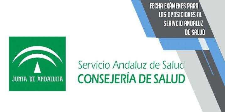 fechas examenes al Servicio Andaluz de Salud