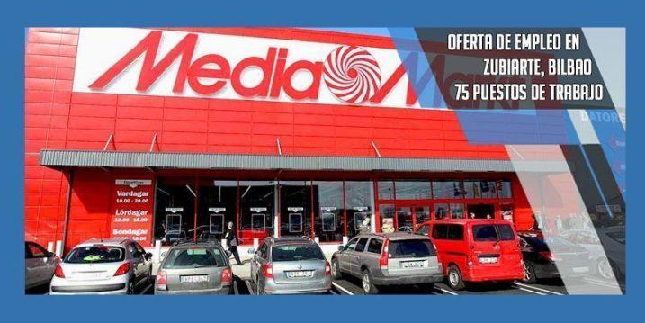 empleo Mediamarkt zubiarte bilbao