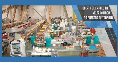 Oferta de empleo para 30 envasadores de fruta en Vélez-Málaga