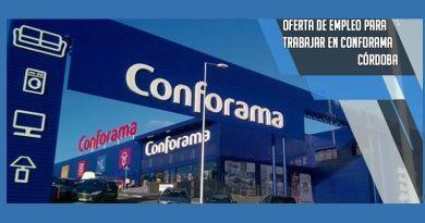 Conforama busca personal para trabajar en su nueva tienda en Córdoba