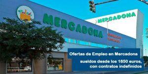 Mercadona busca personal para trabajos con sueldos desde 1850 euros al mes