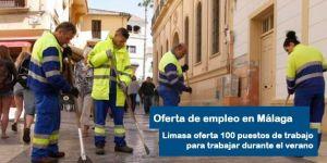 oferta de empleo Limasa Málaga