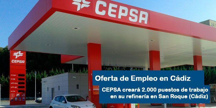 Cepsa oferta empleo en la Refinería de Cádiz