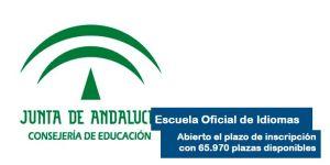 Como apuntarse a la Escuela Oficial de Idiomas en Andalucía