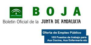 Oferta de Empleo Público de la Junta de Andalucía