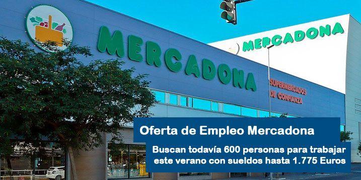 Ofertas empleo mercadona verano