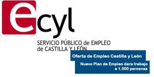 Nuevo plan de empleo de Castilla y León dara empleo a 1.500 personas