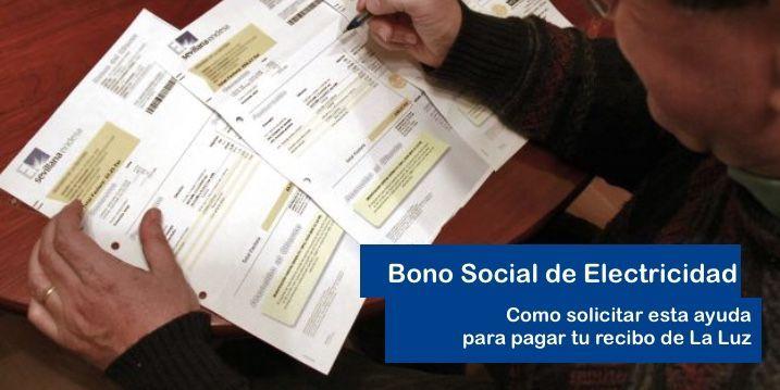 comprueba si tienes derecho al Bono Social de Electricidad