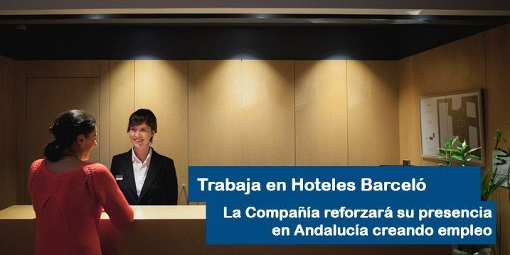 Trabaja en hoteles Barcelo