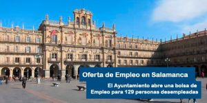 Oferta de Empleo para el Ayuntamiento de Salamanca