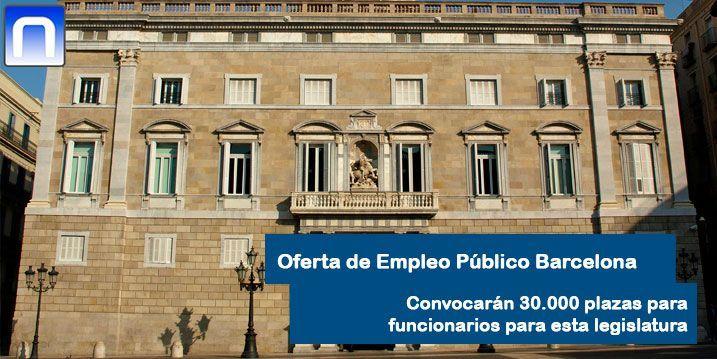 Oferta de Empleo Público Barcelona
