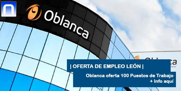 trabajar en Oblanca León
