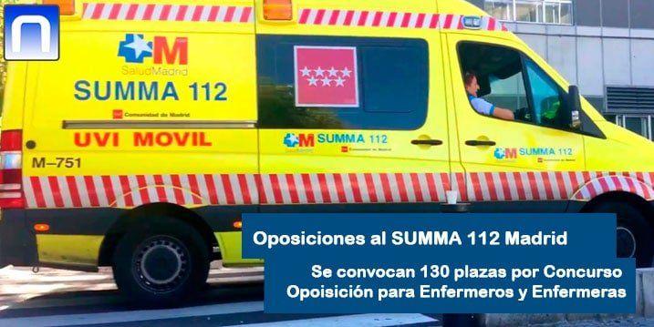Oposiciones SUMMA 112