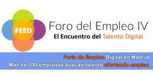 feria de empleo 2018 Madrid