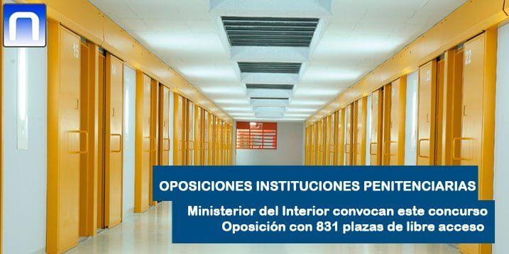 Interior convoca oposiciones a instituciones penitenciarias con 831 plazas - Ministerio del interior oposiciones ...