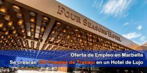 trabajar Four Season Marbella