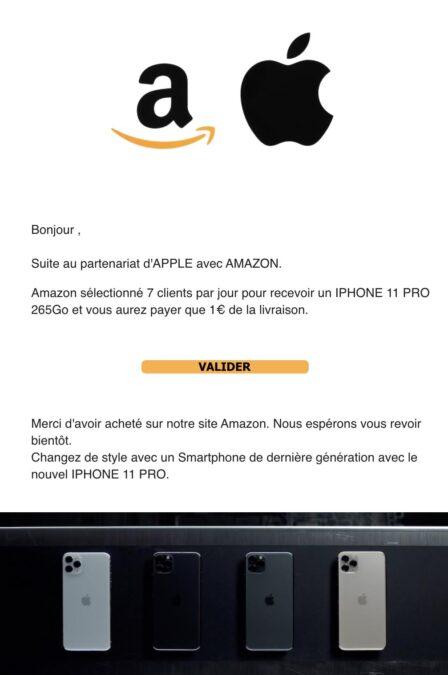 Phishing Amazon Black Friday