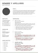 plantilla curriculum formato word