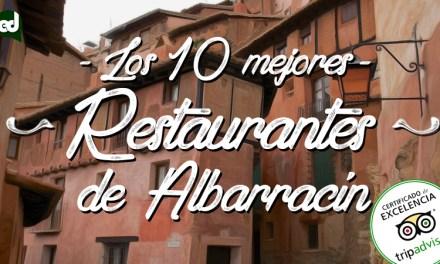 Restaurantes en Albarracín con Certificado de Excelencia
