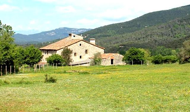 Can Sala; en Sant Martí de Llémena, Girona.
