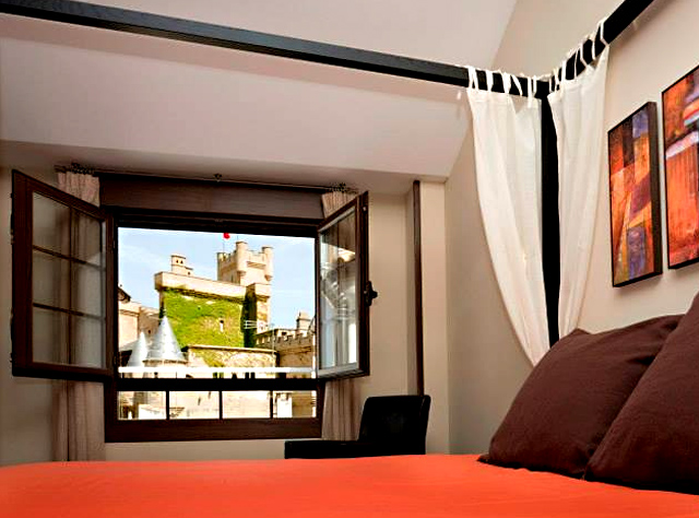 Hotel Rural Villa Olite, en Olite, Navarra